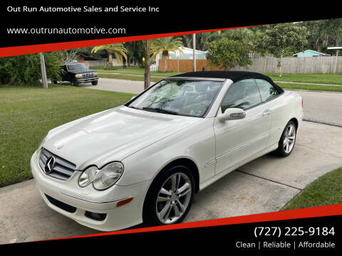 2006 Mercedes-Benz CLK for sale at Out Run Automotive Sales and Service Inc in Tampa FL
