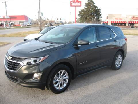 2020 Chevrolet Equinox for sale at Jim Tawney Auto Center Inc in Ottawa KS