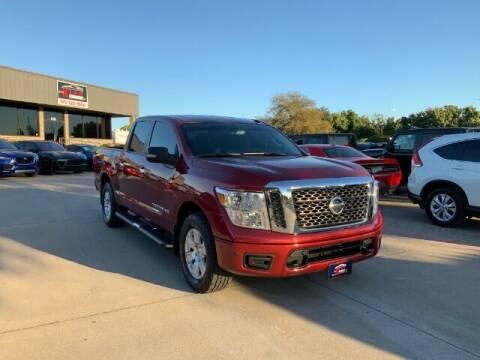 2018 Nissan Titan for sale at KIAN MOTORS INC in Plano TX