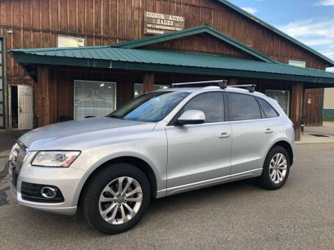 2013 Audi Q5 for sale at Coeur Auto Sales in Hayden ID