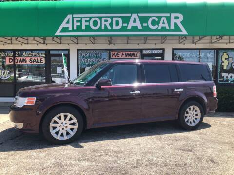 2011 Ford Flex for sale at Afford-A-Car in Dayton/Newcarlisle/Springfield OH