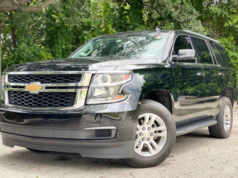 2017 Chevrolet Tahoe for sale at HIGH PERFORMANCE MOTORS in Hollywood FL