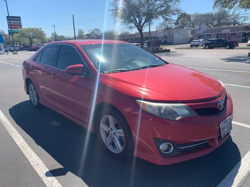 2012 Toyota Camry for sale at SBC Auto Sales in Houston TX