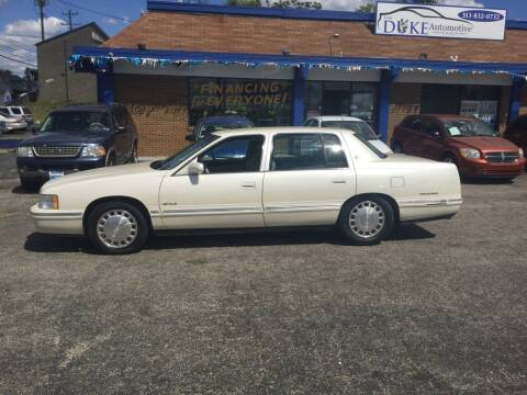 1999 Cadillac DeVille for sale at Duke Automotive Group in Cincinnati OH