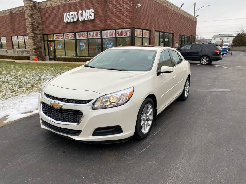 2014 Chevrolet Malibu for sale at My Town Auto Sales in Madison Heights MI