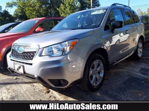 2016 Subaru Forester for sale at Hi-Lo Auto Sales in Frederick MD