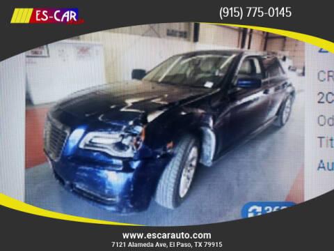 2013 Chrysler 300 for sale at Escar Auto in El Paso TX