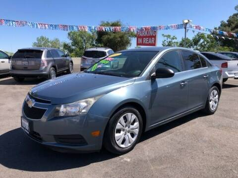 2012 Chevrolet Cruze for sale at C J Auto Sales in Riverbank CA