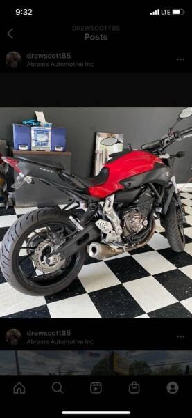 2015 Yamaha Fz-07 for sale at Abrams Automotive Inc in Cincinnati OH