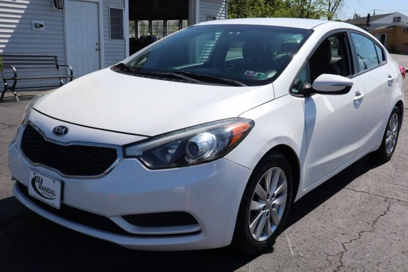 2015 Kia Forte for sale at Randal Auto Sales in Eastampton NJ
