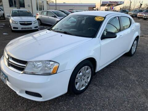 2014 Dodge Avenger for sale at CHRISTIAN AUTO SALES in Anoka MN