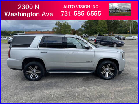 2015 GMC Yukon for sale at Auto Vision Inc. in Brownsville TN