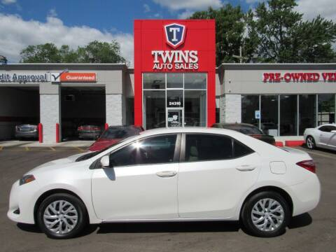 2017 Toyota Corolla for sale at Twins Auto Sales Inc - Detroit in Detroit MI