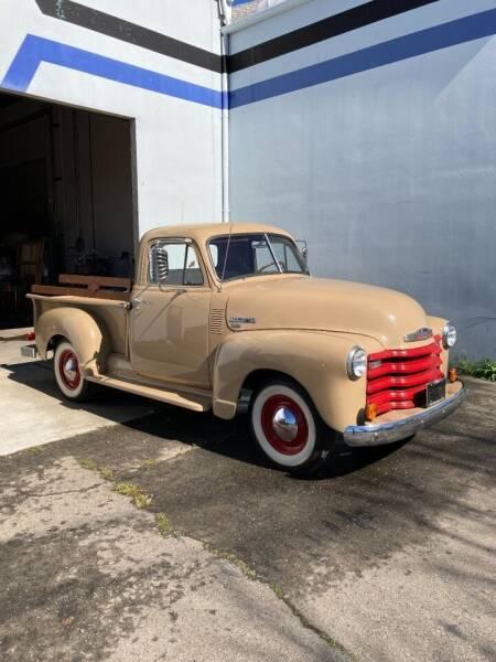 1951 Chevrolet 3100 for sale at Steven Pope in Auburn CA