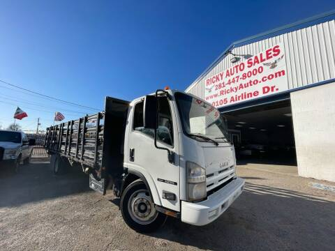 2012 Isuzu NQR for sale at Ricky Auto Sales in Houston TX