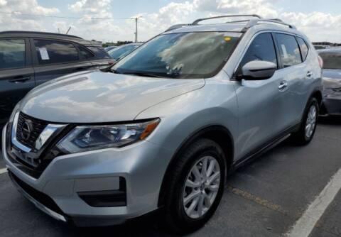 2019 Nissan Rogue for sale at Navarro Auto Motors in Hialeah FL