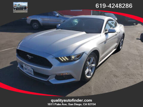 2015 Ford Mustang for sale at QUALITY AUTO FINDER in San Diego CA