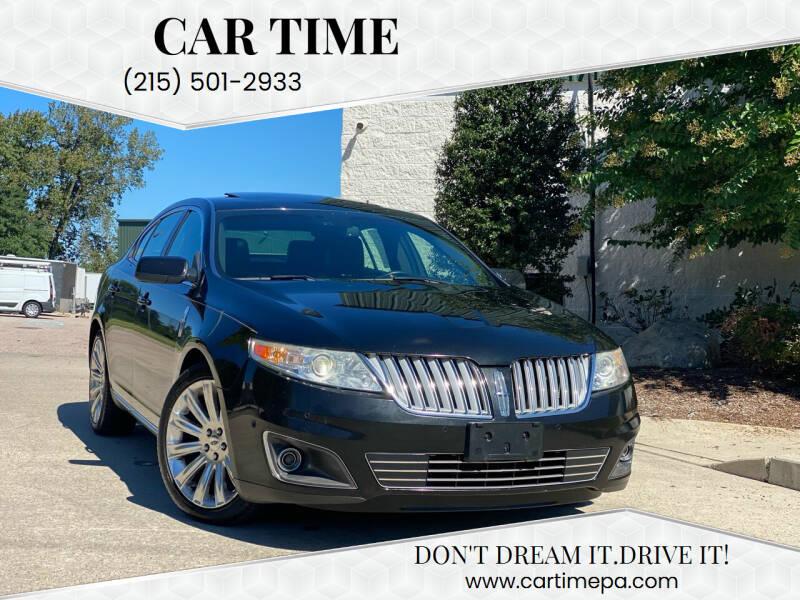 2012 Lincoln MKS for sale at Car Time in Philadelphia PA