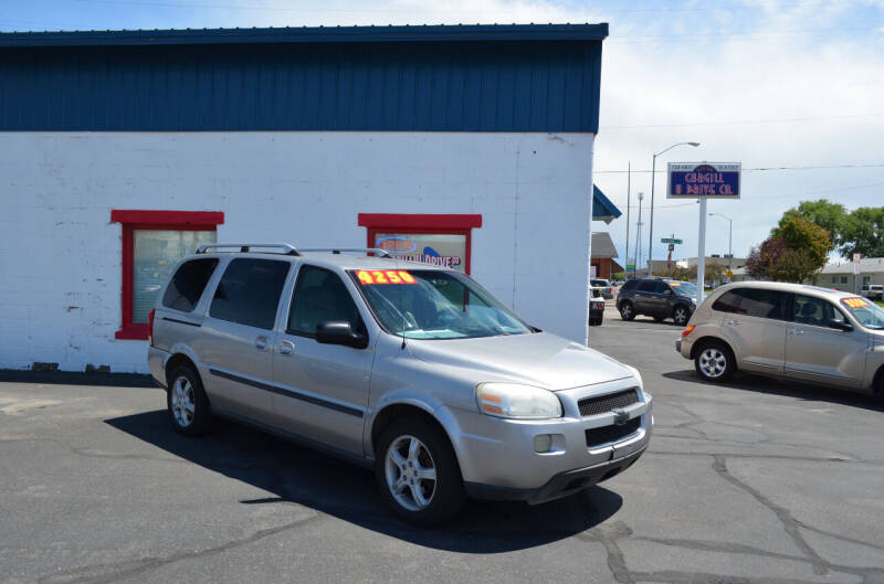 2005 Chevrolet Uplander for sale at CARGILL U DRIVE USED CARS in Twin Falls ID