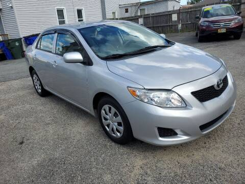 2010 Toyota Corolla for sale at Fortier's Auto Sales & Svc in Fall River MA