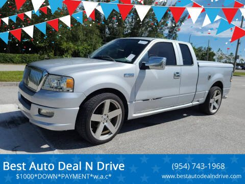 2004 Ford F-150 for sale at Best Auto Deal N Drive in Hollywood FL