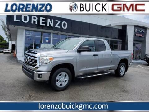 2016 Toyota Tundra for sale at Lorenzo Buick GMC in Miami FL