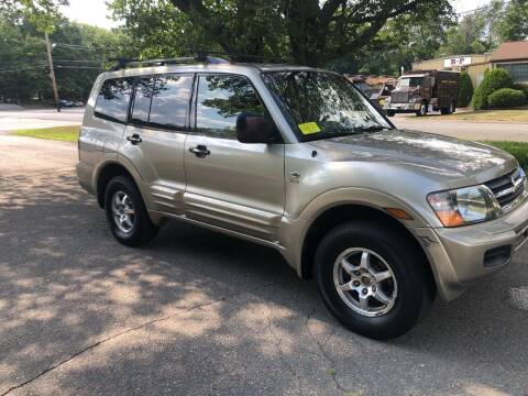 2002 Mitsubishi Montero for sale at Car-Nation Enterprises Inc in Ashland MA
