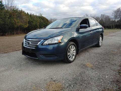 2015 Nissan Sentra for sale at The Car Shed in Burleson TX
