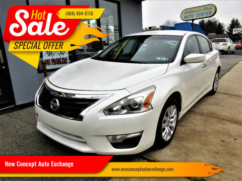 2014 Nissan Altima for sale at New Concept Auto Exchange in Glenolden PA