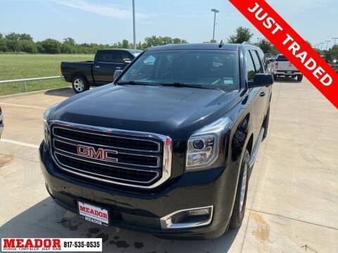 2016 GMC Yukon XL for sale at Meador Dodge Chrysler Jeep RAM in Fort Worth TX