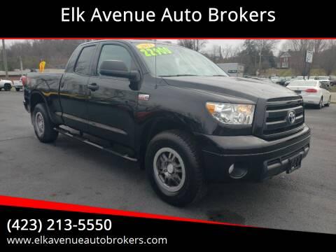 2013 Toyota Tundra for sale at Elk Avenue Auto Brokers in Elizabethton TN