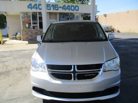 2011 Dodge Grand Caravan for sale at Elite Auto Sales in Willowick OH