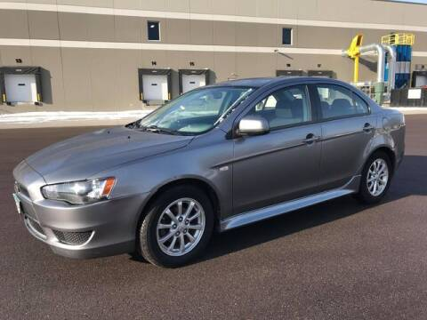 2014 Mitsubishi Lancer for sale at Angies Auto Sales LLC in Newport MN