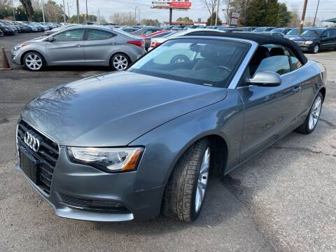 2014 Audi A5 for sale at Atlantic Auto Sales in Garner NC