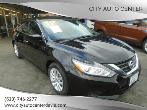 2017 Nissan Altima for sale at City Auto Center in Davis CA