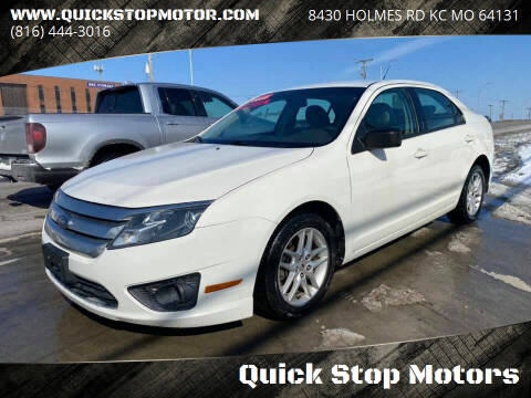 2010 Ford Fusion for sale at Quick Stop Motors in Kansas City MO