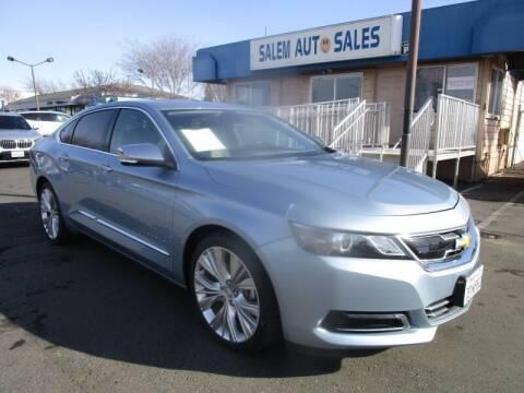 2014 Chevrolet Impala for sale at Salem Auto Sales in Sacramento CA