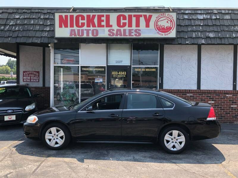 2010 Chevrolet Impala for sale at NICKEL CITY AUTO SALES in Lockport NY
