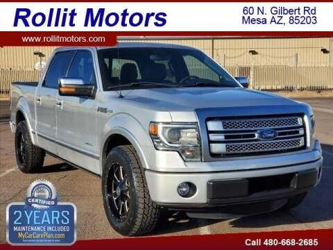 2013 Ford F-150 for sale at Rollit Motors in Mesa AZ