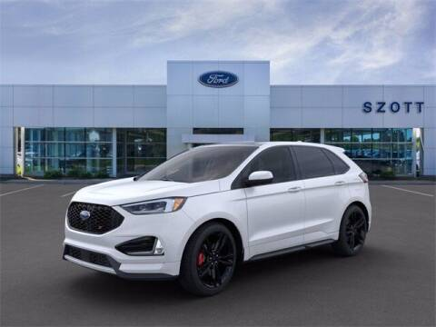 2020 Ford Edge for sale at Szott Ford in Holly MI