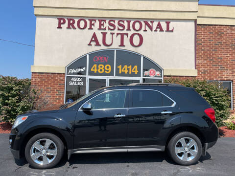 2014 Chevrolet Equinox for sale at Professional Auto Sales & Service in Fort Wayne IN