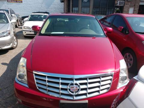 2006 Cadillac DTS for sale at Jimmys Auto INC in Washington DC