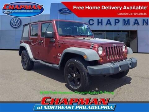 2008 Jeep Wrangler Unlimited for sale at CHAPMAN FORD NORTHEAST PHILADELPHIA in Philadelphia PA