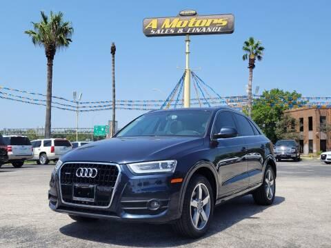2015 Audi Q3 for sale at A MOTORS SALES AND FINANCE - 10110 West Loop 1604 N in San Antonio TX