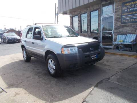 2004 Ford Escape for sale at Preferred Motor Cars of New Jersey in Keyport NJ
