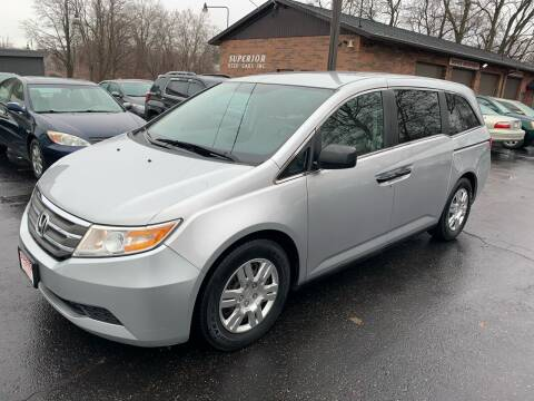 2012 Honda Odyssey for sale at Superior Used Cars Inc in Cuyahoga Falls OH