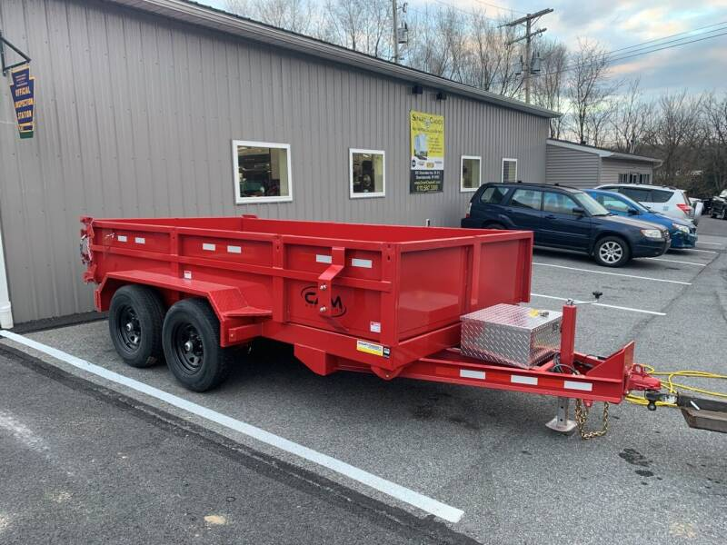 2021 Cam Superline 6x12 HD Dump Trailer for sale at Smart Choice 61 Trailers in Shoemakersville PA