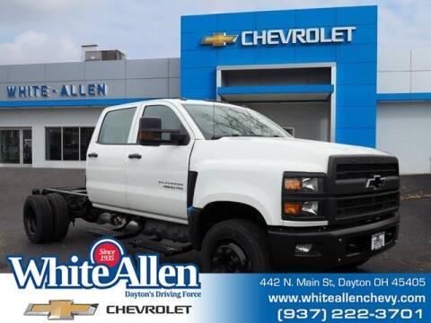 2020 Chevrolet Silverado 5500HD for sale at WHITE-ALLEN CHEVROLET in Dayton OH