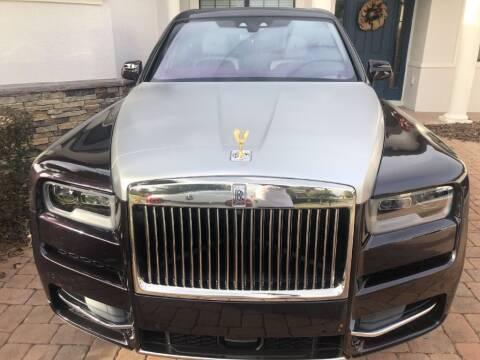 2019 Rolls-Royce Cullinan for sale at WHEEL UNIK AUTOMOTIVE & ACCESSORIES INC in Orlando FL
