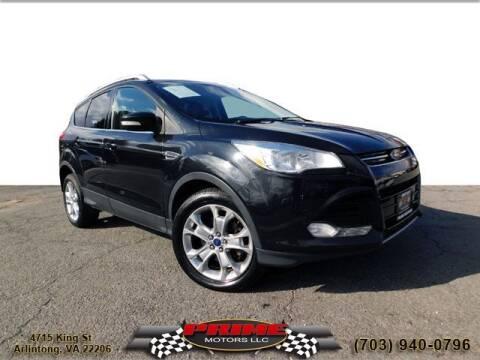 2014 Ford Escape for sale at PRIME MOTORS LLC in Arlington VA